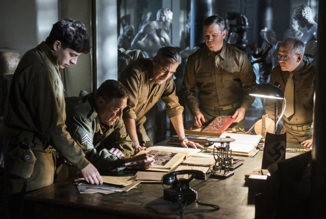 Review: The Monuments Men – Ocean's WWII