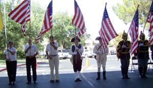 Catalina Mountain Elks observe Flag Day
