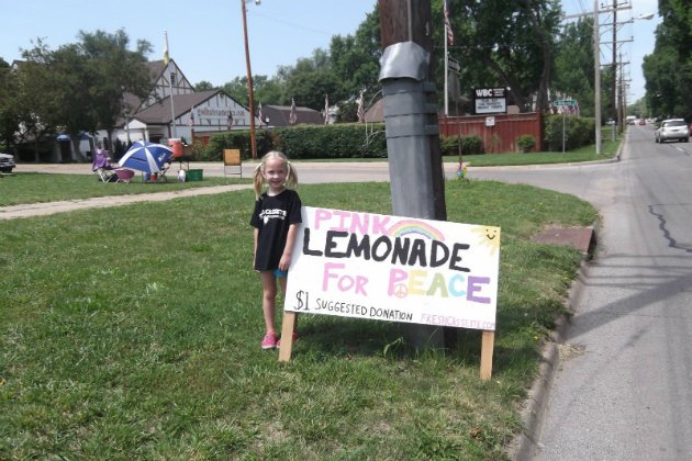 Lemonade for peace