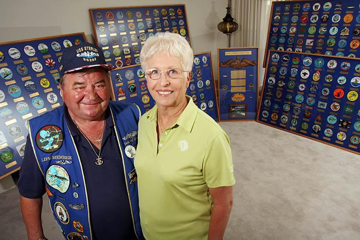 Sub patches honor vets, service