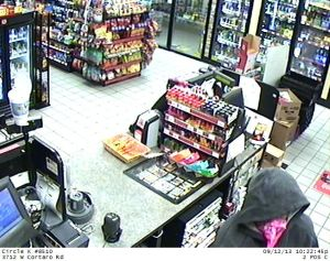 Robbery: Robbery at the Circle K at 3712 West Cortaro Farms Road.