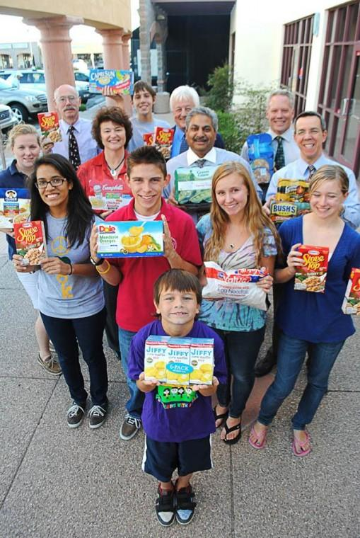 Young people giving boost to annual Jones food drive