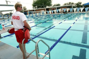 Oro Valley Pool: With construction under way for a massive aquatic center in Oro Valley, the pool will be closed this summer. There are other options for swimmers.  - Explorer file photo