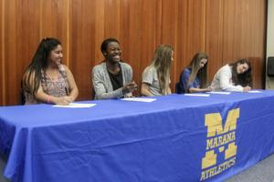 Busy Signing Day for high school student athletes