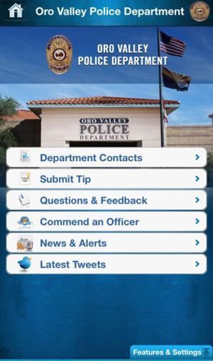 Town of Oro Valley App