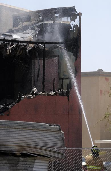 Two teens arrested in Thursday apartment fire
