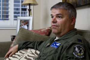 "Jeff ""Spanky"" Peterson: Air Force Lieutenant Colonel and Marana resident Jeff Peterson was involved with the rescue mission that the movie ""Lone Survivor"" was based off of. - Randy Metcalf/The Explorer"