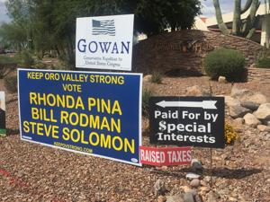 Sign wars part of Oro Valley elections