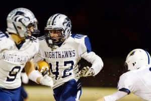 Ironwood Ridge Vs. Apollo: Jake Vartanian became a third rushing threat for the Nighthawks as they overcame a first-quarter deficit to defeat Apollo 42-30. They will play in the semi-finals Friday.  - Gregory A. Johnson