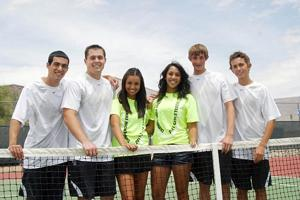 Tennis champs