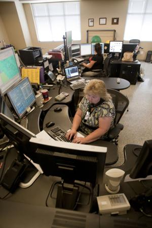 Police dispatcher and 911 operator