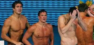 U.S. 4x100 Team: AP photo