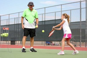 OV tennis teacher instructs for love of the game, people