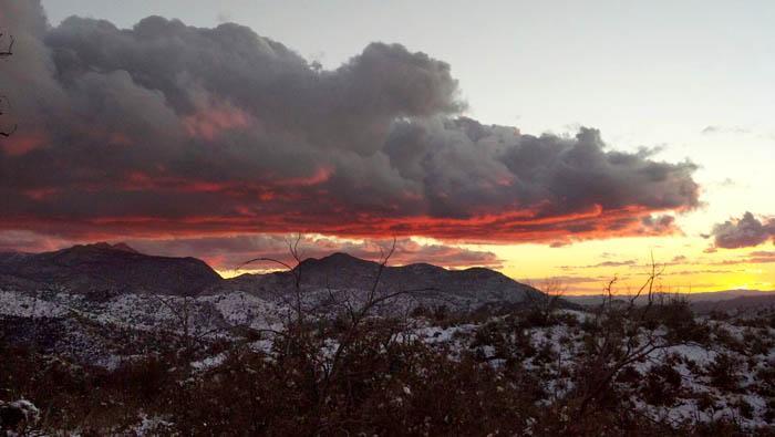 Last sunset of 2012