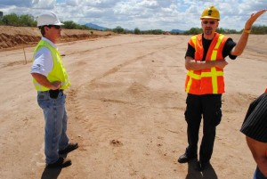 On the surface, it's a road project