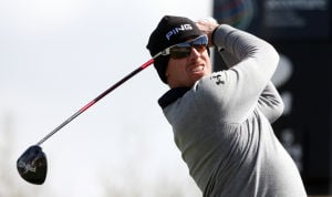 Accenture Match Play Championship: Hunter Mahan tees off from the second hole tee box Sunday.  - Randy Metcalf/The Explorer