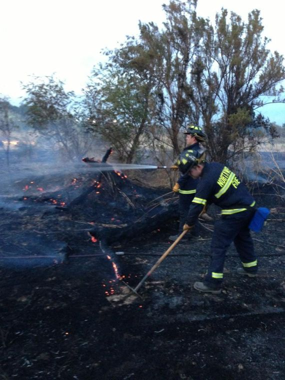 Northwest Fire responds to 2 acre brush fire