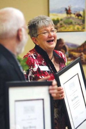 Honors, update on research part of Western National Parks' reception