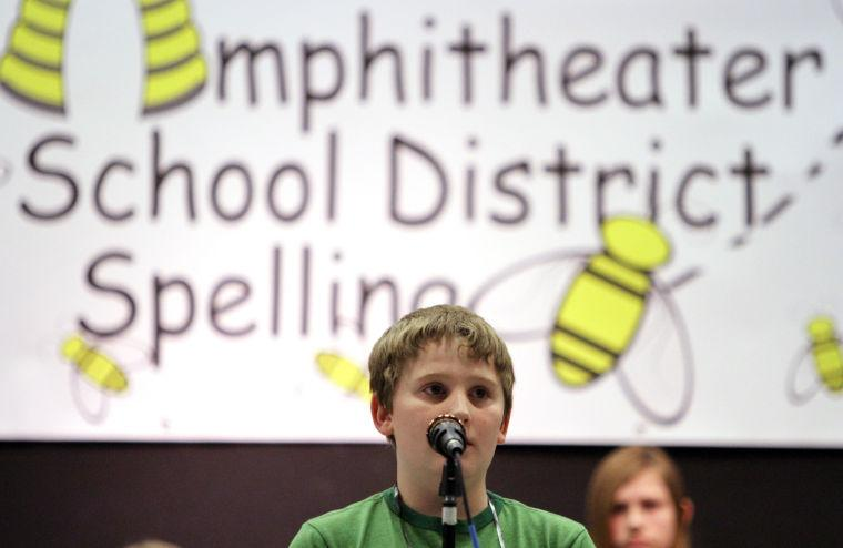Amphitheater School District's spelling bee
