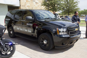 MPD's New Equipment: The Marana Police Department recently received a new DUI vehicle. - Hannah McLeod/The Explorer