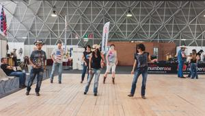 People Dancing At Rocking The Park Event In Milan, Italy