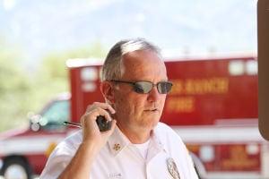 Golder Ranch Fire Chief Randy Karrer: The Arizona Fire Chief's Association recognized Golder Ranch Fire Chief Randy Karrer as Fire Chief of the Year. - Randy Metcalf/The Explorer
