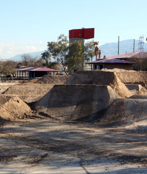 Xtreme Fun Spot At Sports Park: Xtreme Fun Spot at Sports Park, which is expected to open within the next month, will have a BMX course, a mountain bike course, go-karts and miniature golf.  - Randy Metcalf/The Explorer