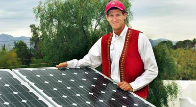 A homeowner 'goes solar'