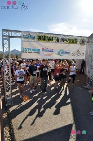 Marana Run: The Marana Run.  - Courtesy Photo