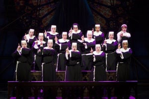 Sister Act: Rejoice in the universal power of friendship at the Broadway in Tucson musical Sister Act, the story of a wannabe diva. The event is at U of A Centennial Hall and tickets are $36-86.  - Courtesy Photo