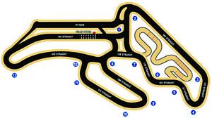 Musselman Honda Circuit Track Map