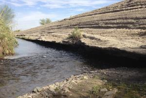 Turns out the magical mystery dam in Santa Cruz River was not much of a mystery afterall