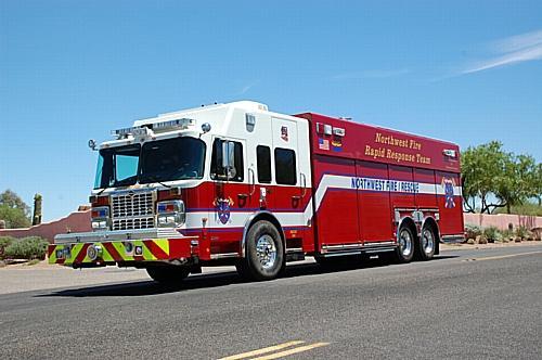 Tucson fire truck