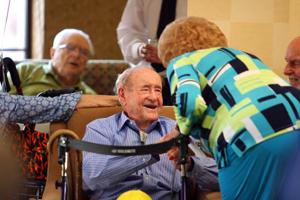 Still steppin' at 106