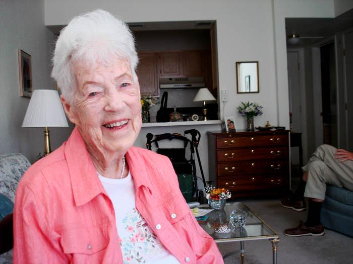At 100, 'a new lease on life'