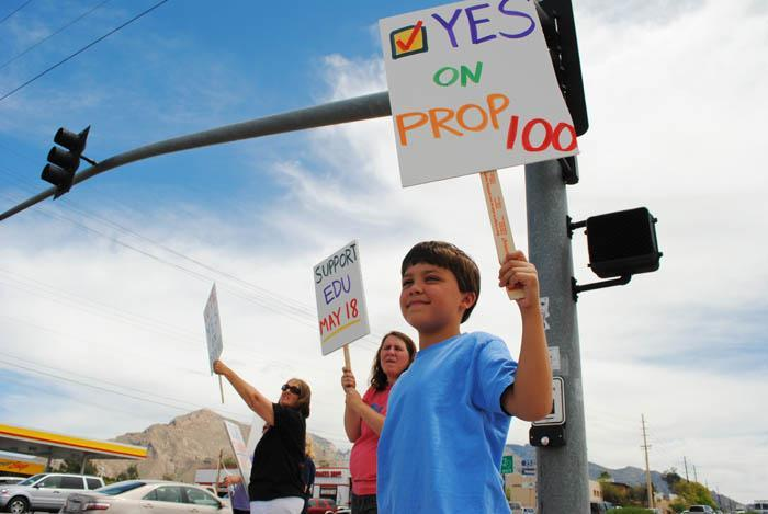 Taking Prop 100 to the streets