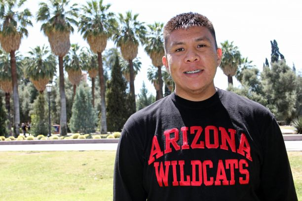 Monty Begaye at U of A