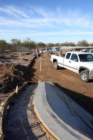 Picture Rocks skate park nears finish