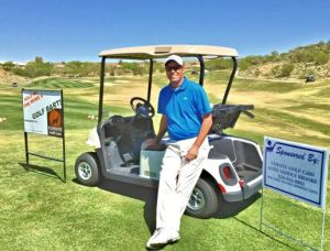 Thayer Hits Two Hole-in-ones: Photo courtesy of the SaddleBrooke Men's Golf Association
