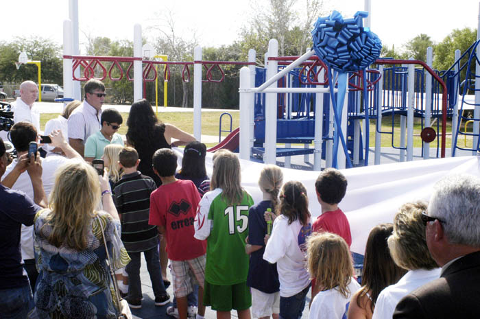 Playground dedication 3