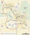 Southern Arizona interstate 11 environmental impact study begins