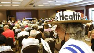Task force session draws a crowd of 150