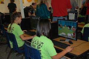 MUSD students using Minecraft to learn coding