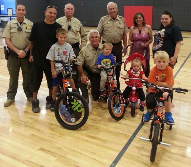 New bike donated to 8-year-old hit-and-run victim