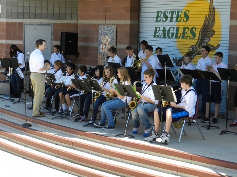Marana Middle School band