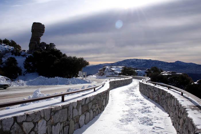 Mt. Lemmon Road Closed