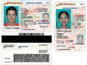 New AZ drivers license