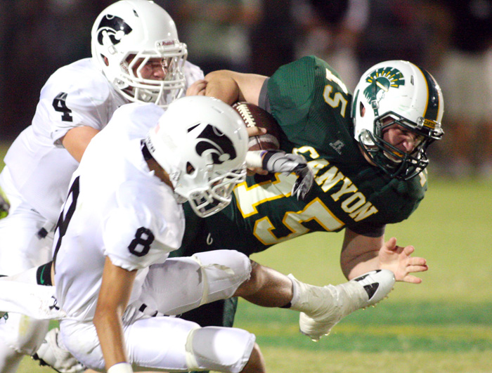 Moutain View vs Canyon Del Oro High School Football