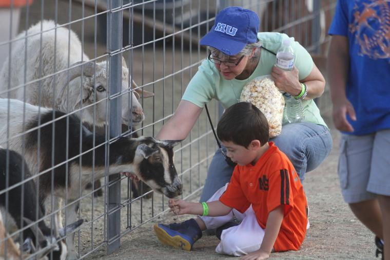 Marana Pumpkin Patch & Farm Festival 2016 Goat Feeding