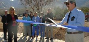 Multi-use path formally unveiled at marketplace